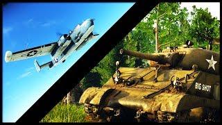 BIG GUNS, LOW TIERS   Combo Time (War Thunder Gameplay)