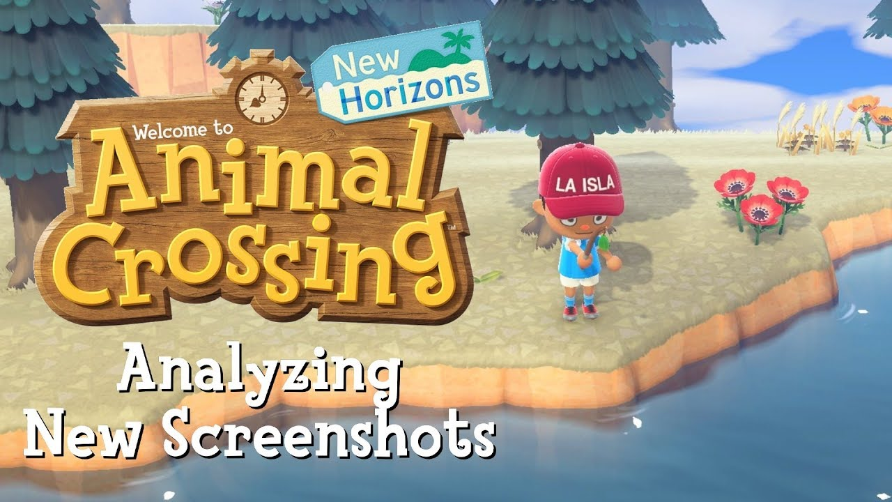 Analyzing Brand New Animal Crossing New Horizons Screenshots