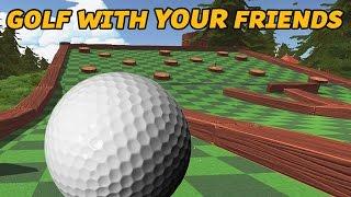Golf with YOUR Friends Gameplay Deutsch #01 - Ich hasse euch alle!