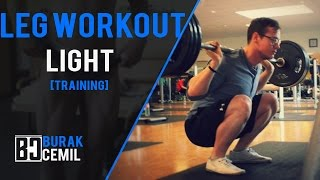 [TRAINING] Light Leg Workout + Free Program Update