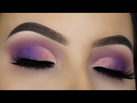 Purple Sunset Eye Makeup Tutorial
