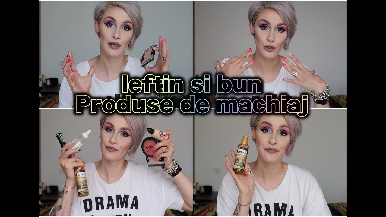 Ieftin si Bun: Produse de machiaj sub 80 de lei
