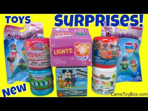 Toy Surprises Hello Sanrio Fashems Disney Crossy Road D Lectables Num Noms Lights Paw Patrol Fun