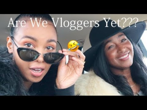 Vlog!! COME VINTAGE SHOPPING WITH US!