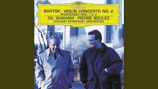 Bartók: Rhapsody For Violin And Orchestra No.2 Sz 90 - 2. Friss: Allegro moderato