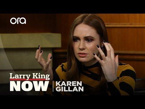 Karen Gillan talks 'Jumanji' co-stars, moving to America, & 'Doctor Who'