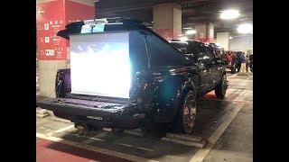 2018-11-17 泉大津パーキング アメ車 ナイトミーティング Japan Osaka Meet F350 Truck Dually α6500 PILOTFLY Adventurer