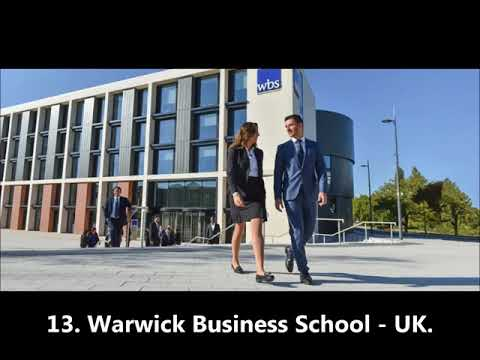 Top 20 Business Schools for a Marketing major
