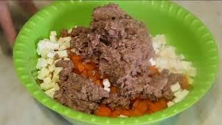 Салат из тунца ( Быстрая закуска )