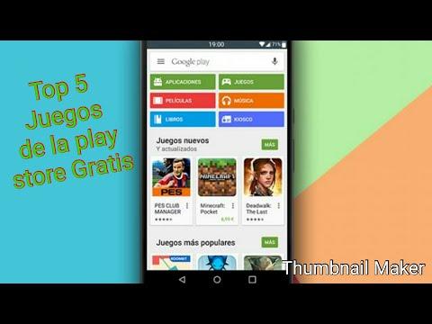 Top 5 Juegos De La Play Store Gratis Youtube