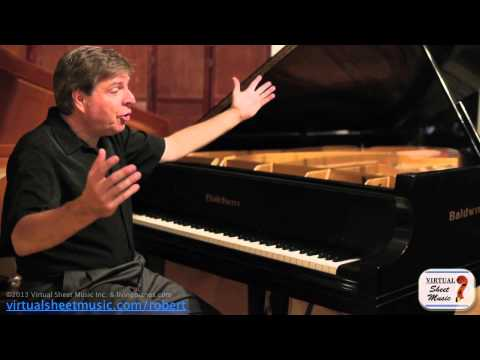 How to interpret Baroque Music on a piano.