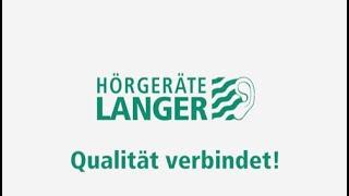 Hörgeräte LANGER Imagefilm 2020