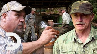 New Distillation Process Doubles Moonshine's Proof And Price | Moonshiners