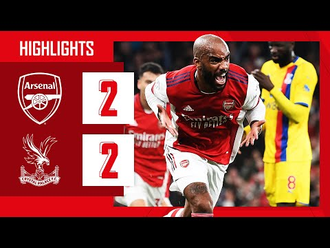 HIGHLIGHTS | Arsenal vs Crystal Palace (2-2) | Lacazette equalises in stoppage time!