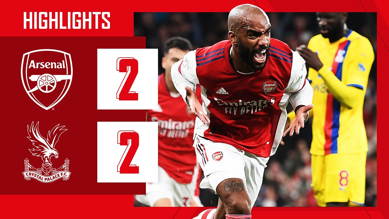 Download HIGHLIGHTS | Arsenal vs Crystal Palace (2-2) | Lacazette equalises in stoppage time!