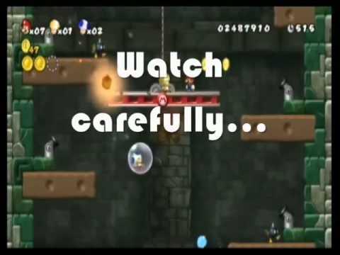 New Super Mario Bros. Wii Triple Secret