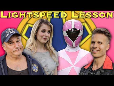 FILM: Lightspeed Lesson  feat. Alison MacInnis Power Rangers