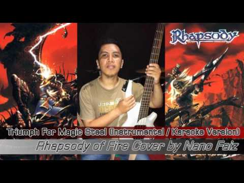 Triumph for My Magic Steel ( Instrumental / Karaoke Version ) - Rhapsody of Fire Cover by Nano Faiz