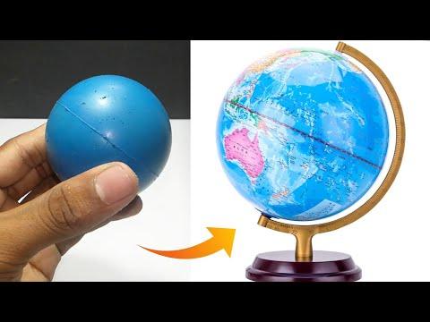 How to make a World Globe Kids School Project