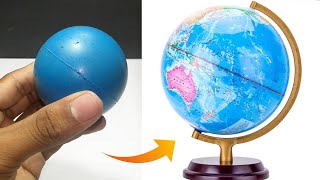 How to make a World Globe Kids School Project