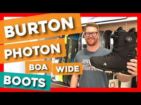 ilmainen toimitus laadukas suunnittelu uusi halpa 2020 Burton Photon BOA Wide Snowboard Boots - YouTube