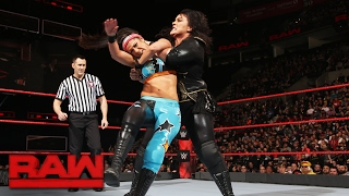 Bayley vs. Nia Jax: Raw, Feb. 6, 2017