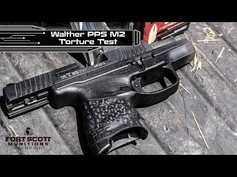 TORTURE TEST! - 1200 Rounds Through a Walther PPS M2