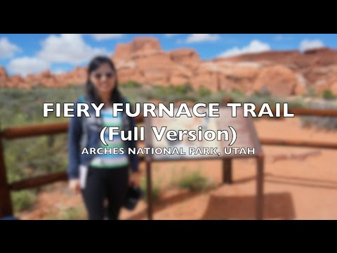 Fiery Furnace Hike | Arches National Park...
