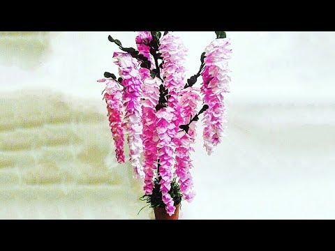 DIY Paper Flower Tree [Tutorial]