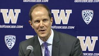Mike Hopkins introduced as Washington's basketball coach