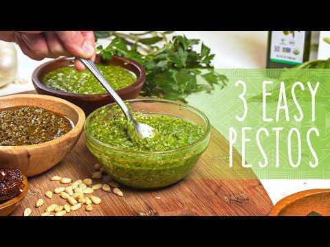 how-to-make-pesto-|-3-easy-pesto-recipes