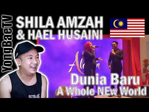 Free Download Shila Amzah & Hael Husaini - Dunia Baru (a Whole New World) | Reaction | Yongbaetv Mp3 dan Mp4