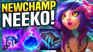 When a KOREAN CHALLENGER Pro Picks NEW CHAMPION NEEKO! | DWG Aries Plays NEW CHAMPION NEEKO BOT!