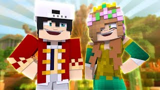 RAVEN AND LITTLE KELLY BECOMES KING AND QUEEN?! Minecraft Custom Roleplay