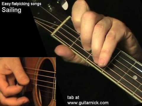 Sailing Rod Stewart On Acoustic Guitar Tab Learn How To Play