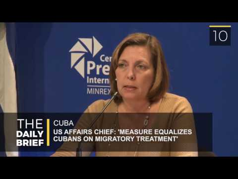 The Daily Brief: Cuba: 'Measure Equalizes Migratory Treatment for Cubans'