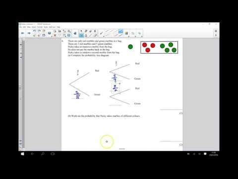 Access youtube probability tree diagrams conditional gcse maths ccuart Images