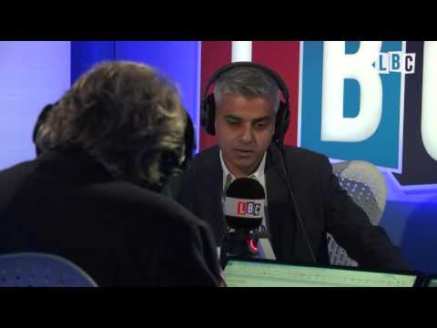 Sadiq Khan Talks London Housing With Nick Ferrari