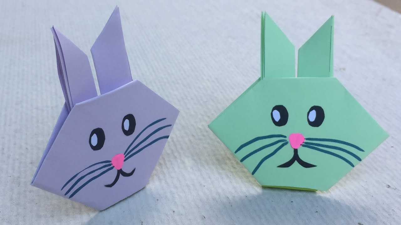 Origami : Bunny Basket - YouTube | 720x1280