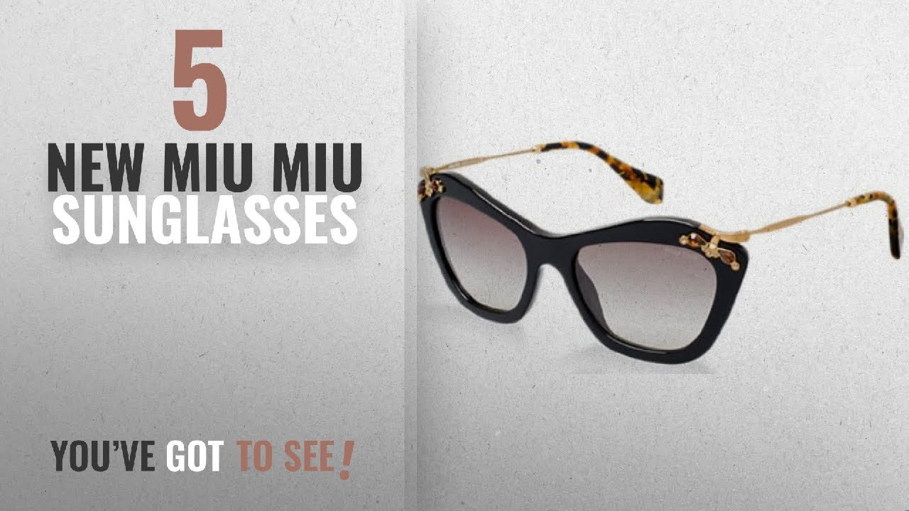 87a5c1480a Top 10 Miu Miu Sunglasses   Winter 2018    MIU MIU NOIR SUNGLASSES ...