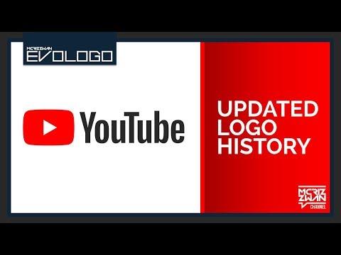 YouTube Updated Logo History | Evologo [Evolution of Logo]