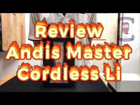 Review Andis Master Cordless Li (Thai Ver.) แอนดิสมาสเตอร์ไร้สาย