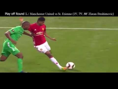 Manchester united   road to europa league final stockholm 2017   goals and highlights ucl 2016 2017