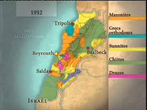 © ARTE Le dessous des cartes - Histoire du Liban
