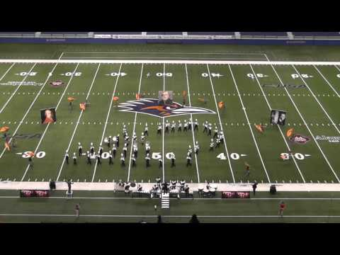 Santa Rosa High School Band 2015 - UIL 3A State Marching Contest