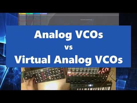 Analog VCOs vs Virtual Analog VCOs