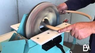 Wood Sander For Bent Parts Type Lpc160