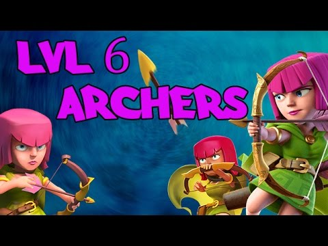 Clash of Clans: Upgrading to level 6 Archers!!! [It's about time!]