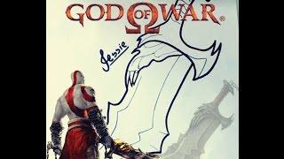 GOD OF WAR  -Desenhando a Lâmina do Caos (Drawing the blade of chaos)
