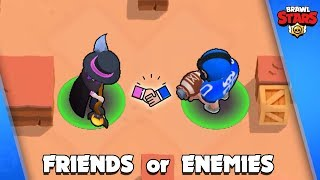 FRIENDS or ENEMIES ❓ World of Crazy Brawlers 😂 Brawl Stars 2019 Funny Moments and Fails